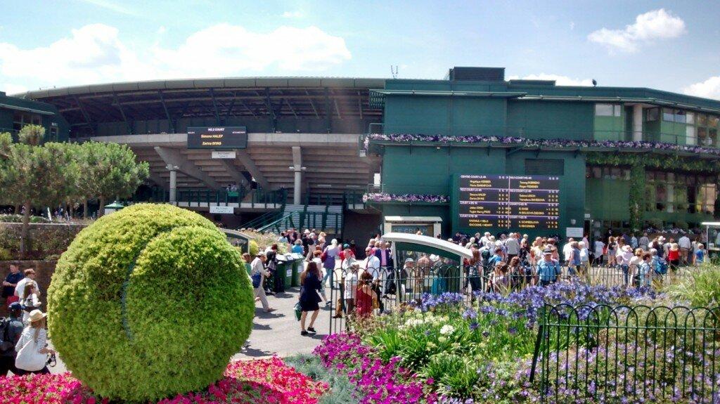 Bem-vindo a Wimbledon. Foto: Mapa de Londres