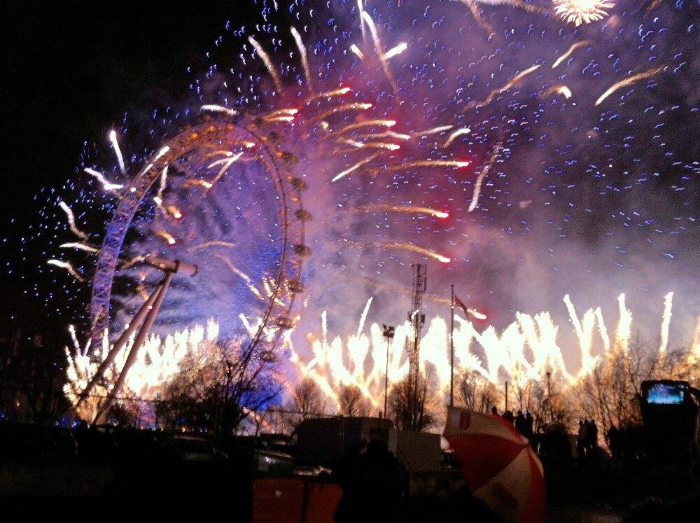 Ano novo em Londres - Mapa de Londres