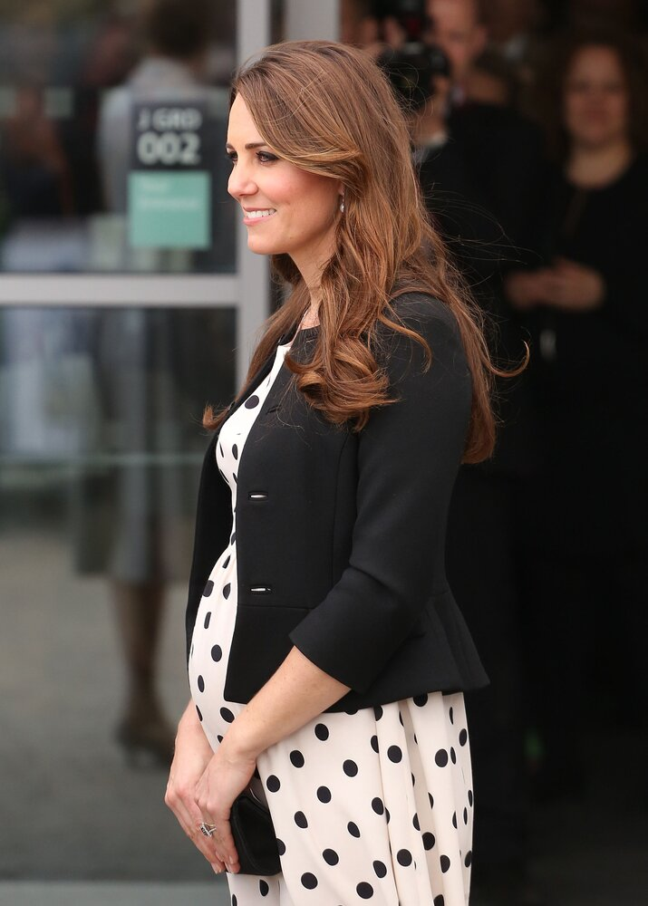 Primeira gravidez de Kate mobilizou súditos britânicos. Foto: Shutterstock