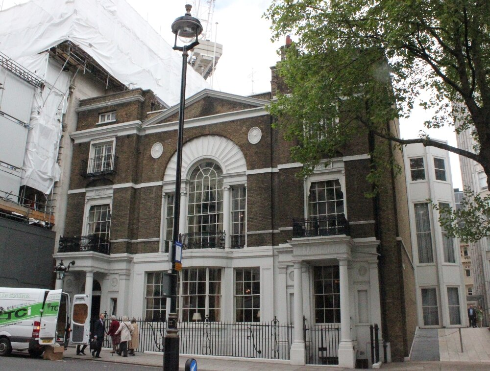 Boodle's - Mapa de Londres