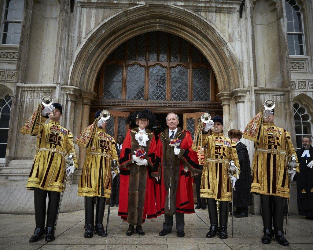 O novo prefeito da City of London, Alderman Alan Yarrow. Foto: Divulgação