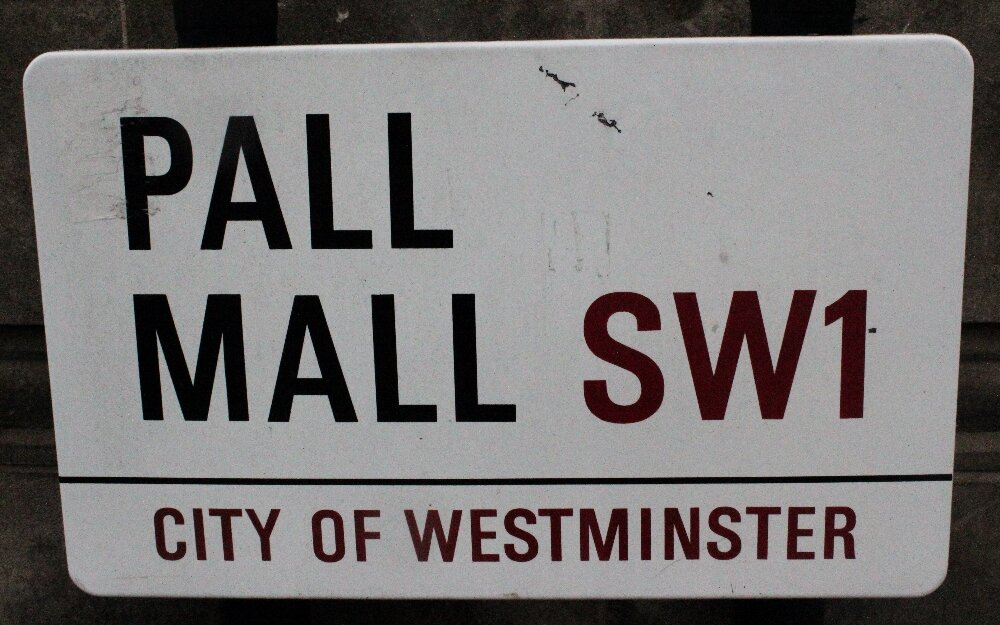 Pall Mall em Londres