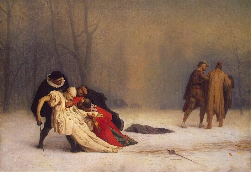 Retrato de um duelo por Jean-Léon Gérôme, 1859. Foto: domínio público
