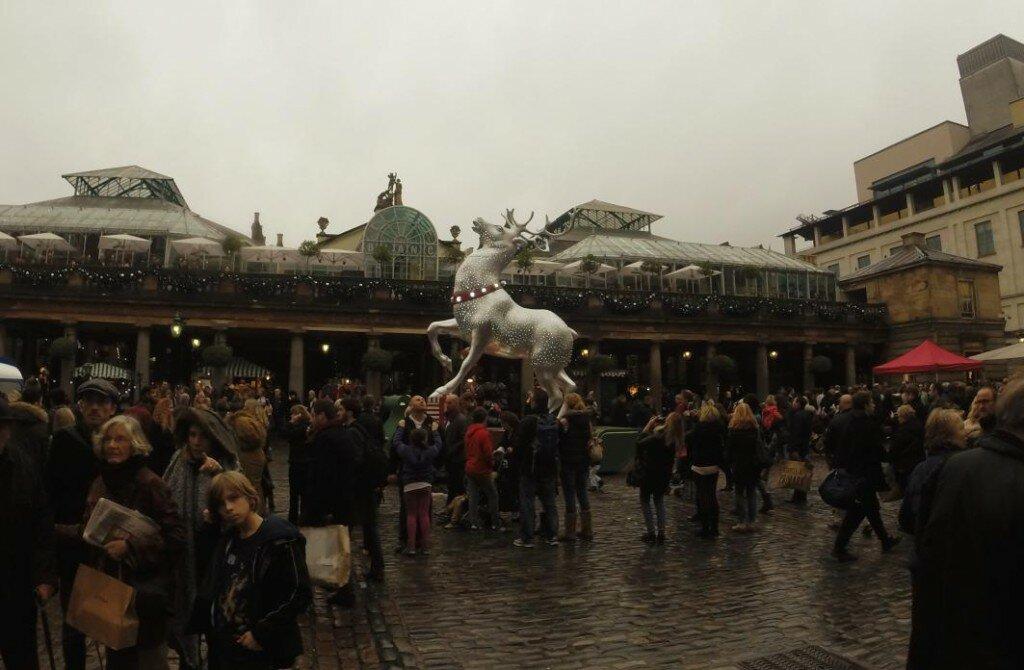 Covent Garden no Natal