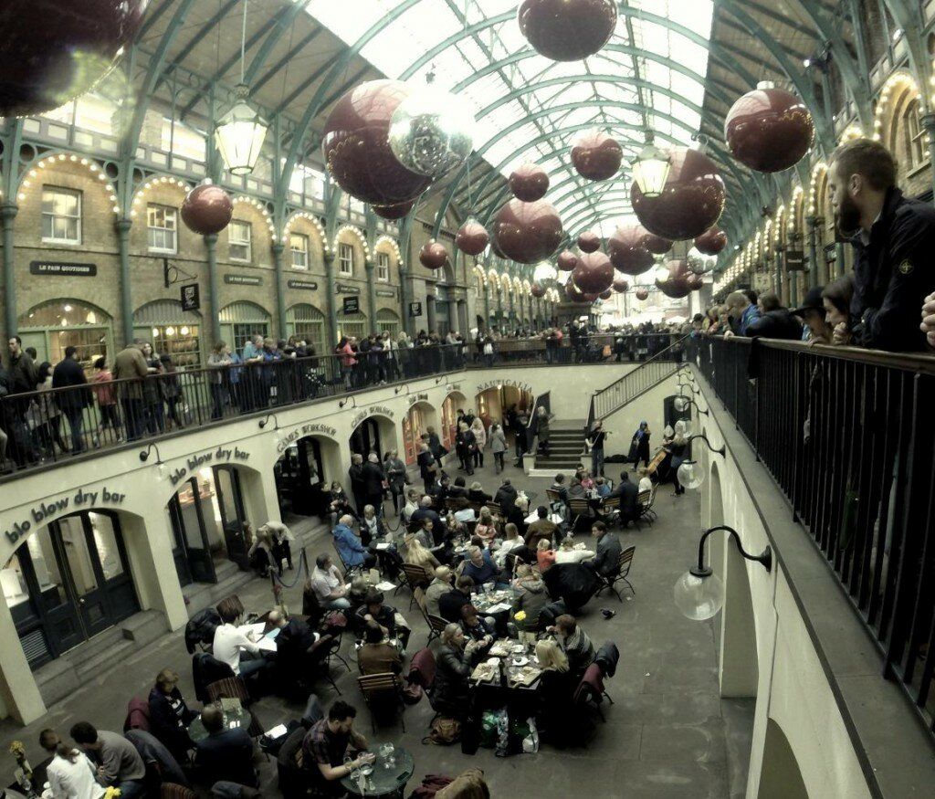 Covent Garden no Natal