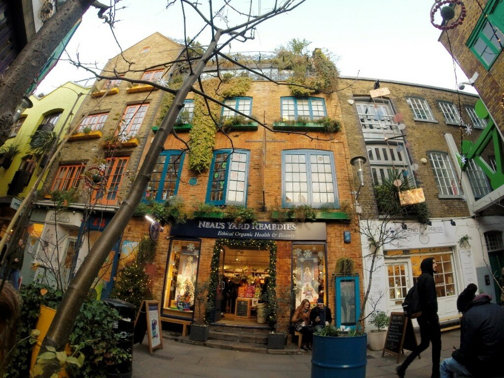 Wild Food Café - Mapa de Londres