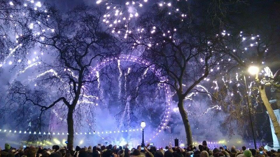 Ano Novo em Londres - 1