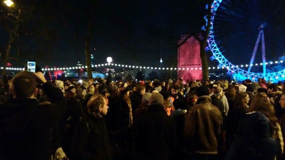 Ano Novo em Londres - 2