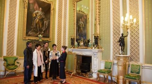Salas de Estado do Palácio de Buckingham. Foto: Divulgação