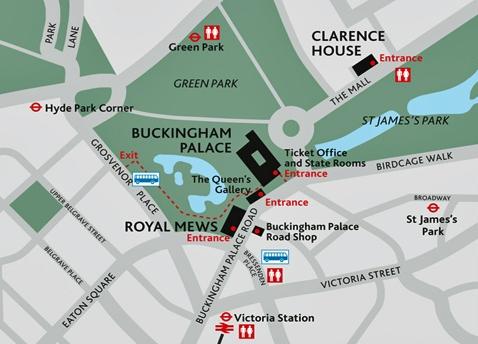 Reprodução, Palácio de Buckingham