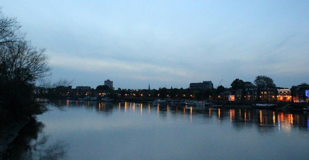 Hammersmith Bridge - Mapa de Londres