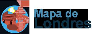Mapa de Londres - Guia turístico de Londres