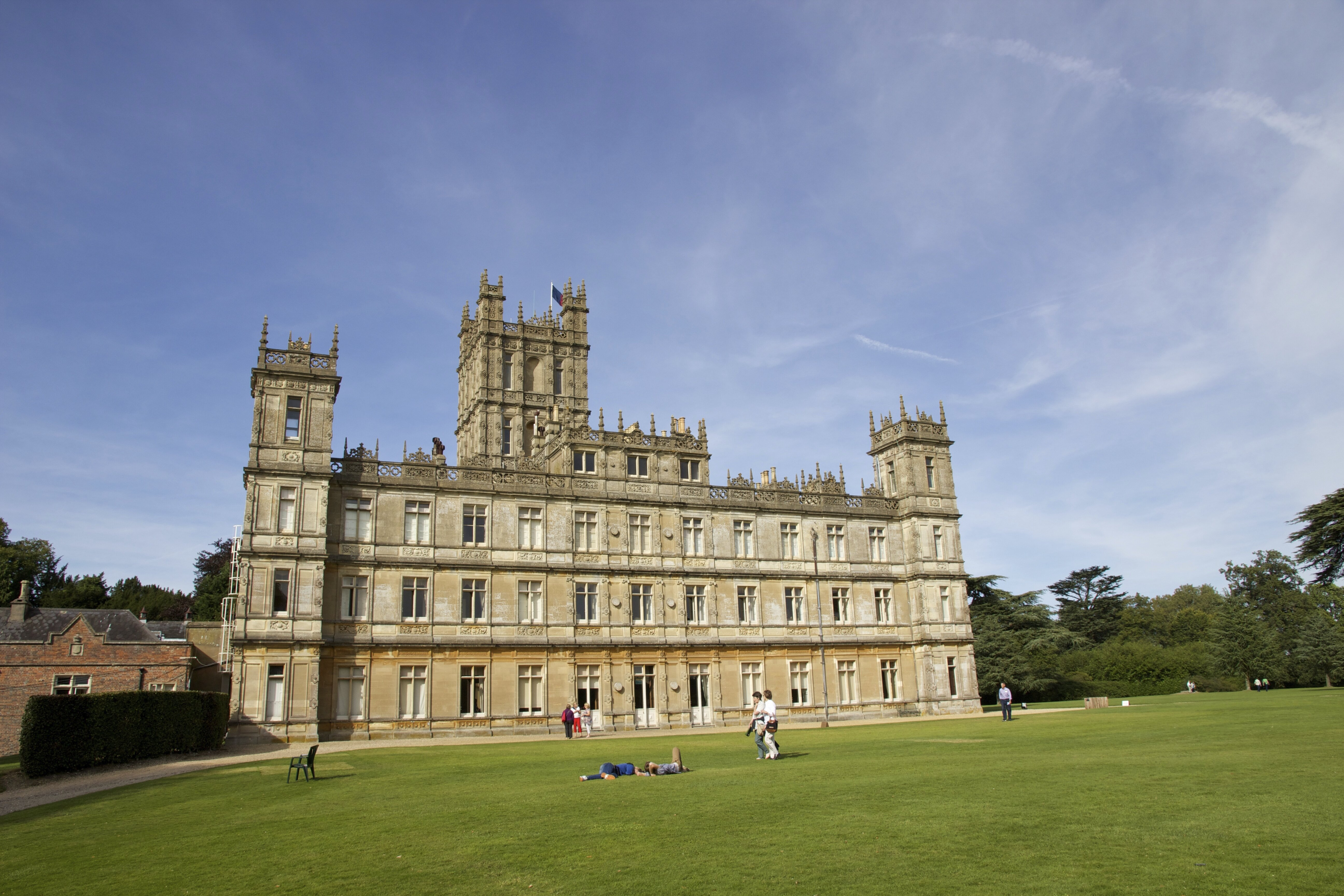 Highclere castle castelo de downton abbey mapa de londres - Chateau de downton abbey ...