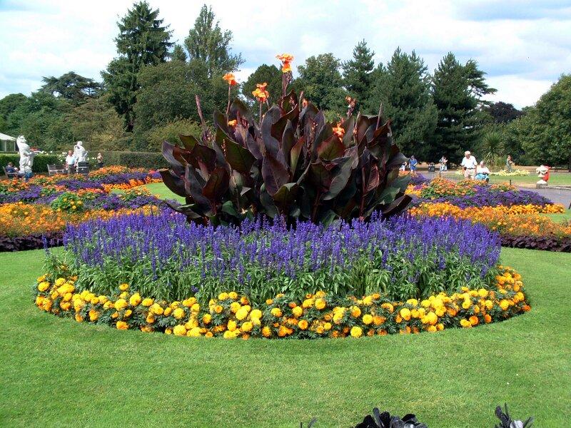 Uma das regiões mais floridas na primavera do Kew Garden. Foto: Istock, Getty Images