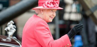 Rainha Elizabeth II - Mapa de Londres