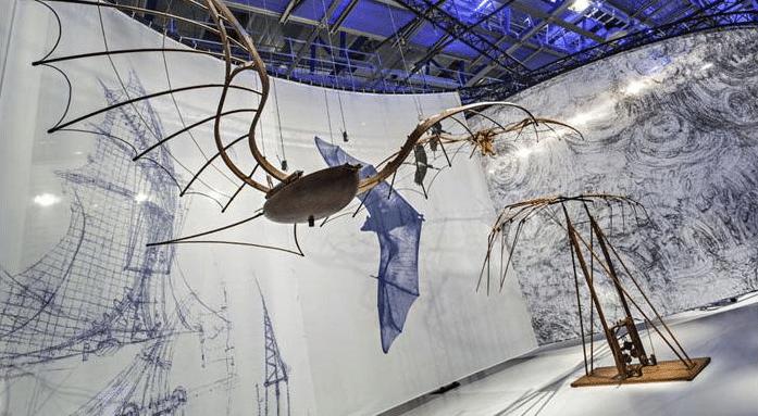 Exposição Leonardo da Vinci