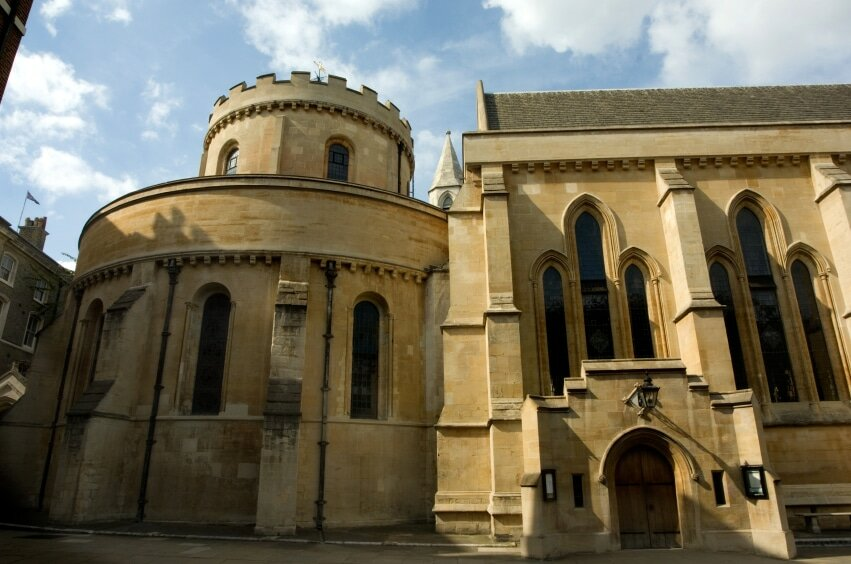 Temple Church, em Londres. Foto: iStock, Getty Images