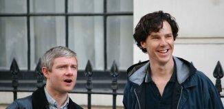 Martin Freeman e Benedict Cumberbatch