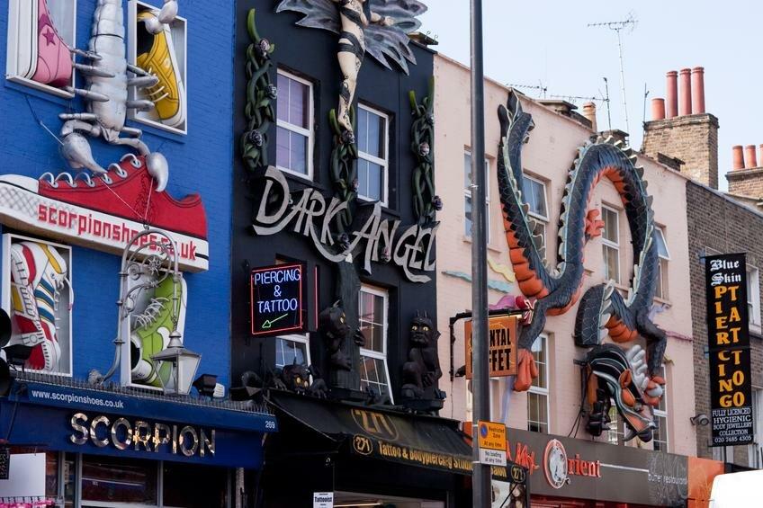 Imagens de Londres: Camden Town