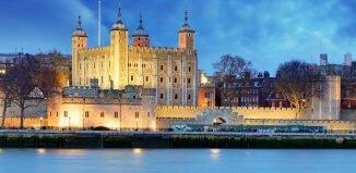 Imagens de Londres: Torre de Londres à noite