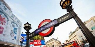 Imagens de Londres: metrô