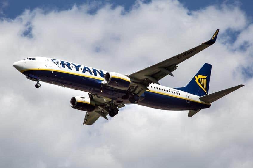 Londres para Dublin de avião