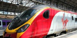 Trem de Londres para Dublin