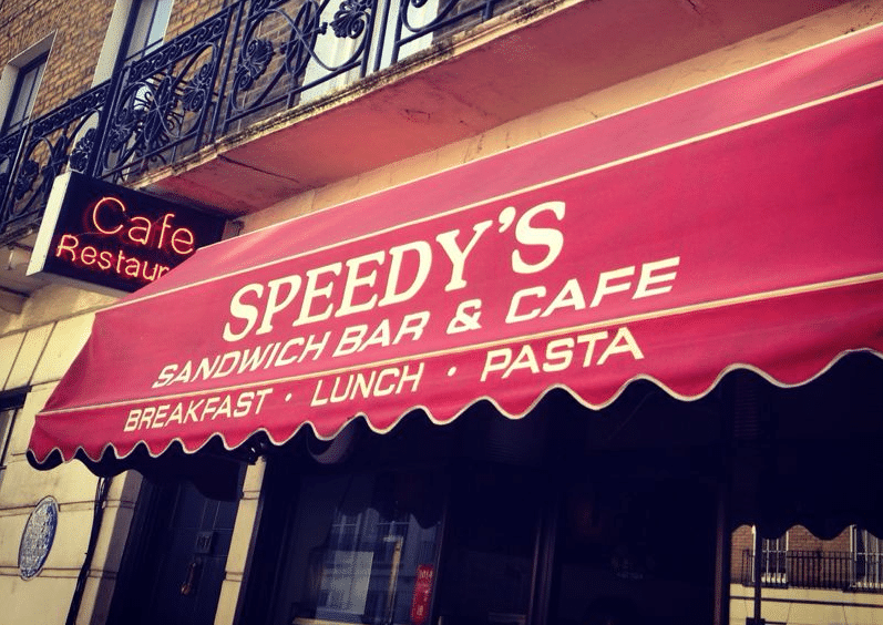 Speedy Cafe - Série Sherlock