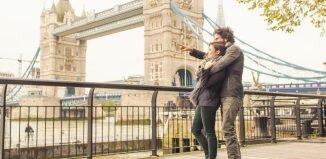 Londres em fevereiro
