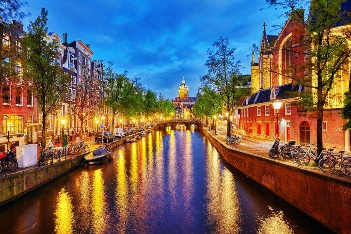 Amsterdã - Cidades da Europa