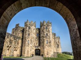 Castelo de Hogwarts em Alnwick