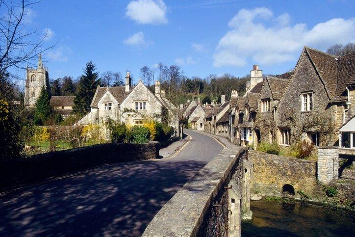 Castle Comb - cidades medievais da Inglaterra