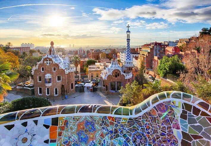 Cidades da Europa - Barcelona
