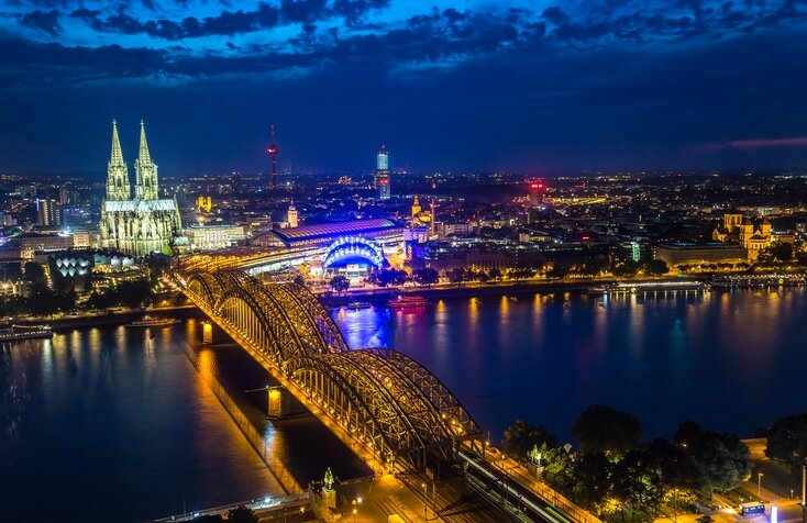 Colônia na Alemanha - Londres
