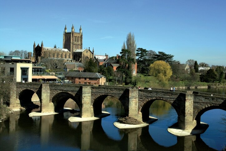 Hereford - cidades medievais