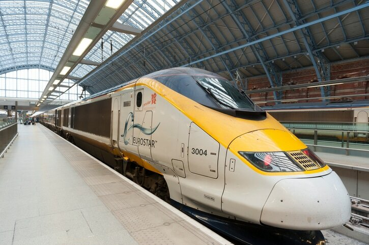 Eurostar Londres - Berlim - St Pancras
