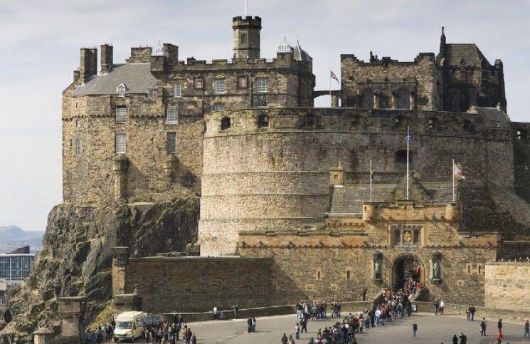 Alas do Castelo de Edimburgo