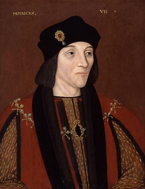 Henry VII, o primeiro Tudor a sentar no trono. Foto: Domínio Público