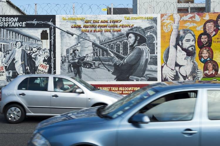 Muros de Belfast