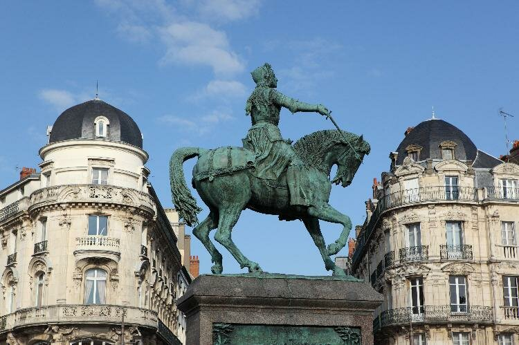Statue of Jeanne d'Arc