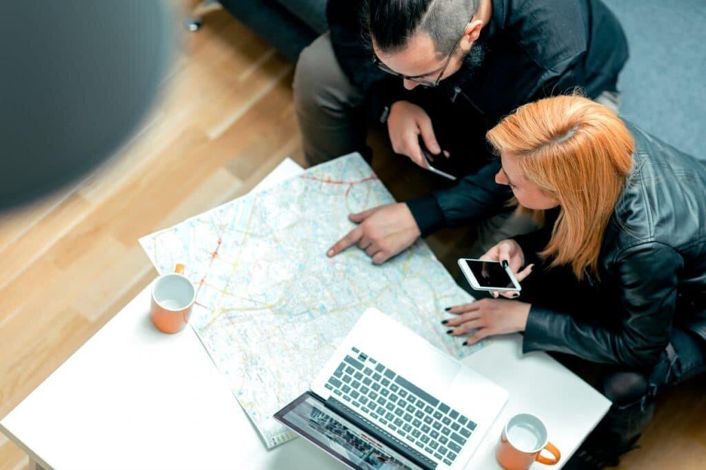 Crie roteiros de viagem