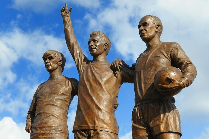 United Trinity no Old Trafford - Manchester United