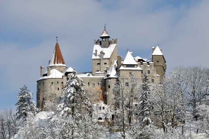 Castelo de Bran - Castelos medievais da Europa