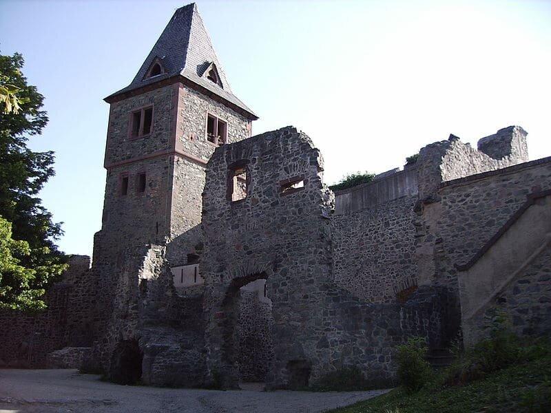 Castelo de Frankenstein - Castelos medievais da Europa