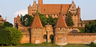 Castelo de Malbork - Castelos medievais da Europa
