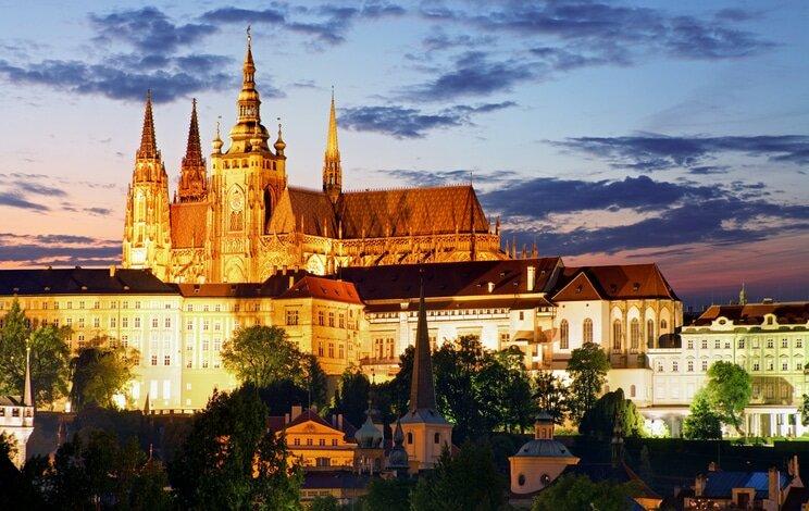 Castelo de Praga - Castelos medievais na Europa