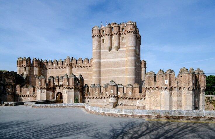 Castelo de Coca - Castelos medievais na Europa