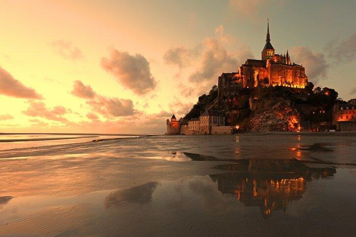 Mont Saint Michel - Castelos Medievais da Europa