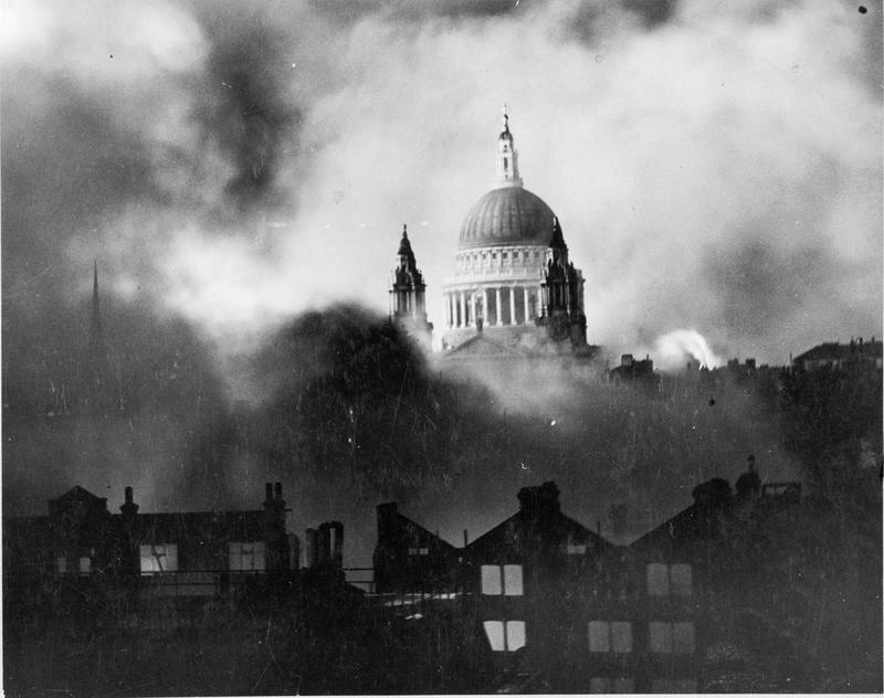 St Paul's Cathedral na Segunda Guerra Mundial