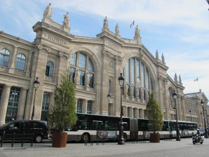 Estação Gare du Nord em Paris. Foto: iStock, Getty Images